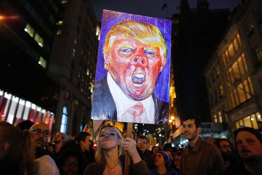 Donald Trump Protests 622093928