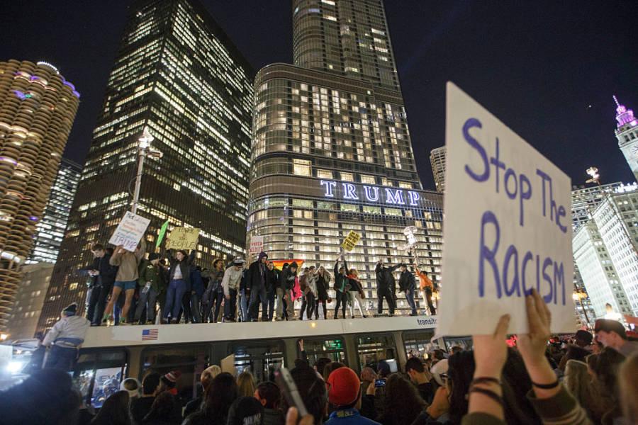 Donald Trump Protests 622097284