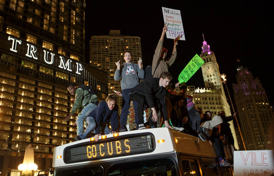 Donald Trump Protests 622098842