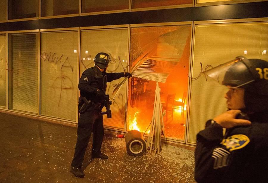 Donald Trump Protests 622113886