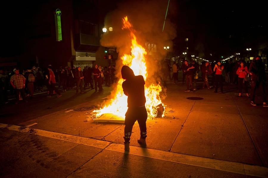Donald Trump Protests 622117470