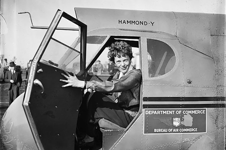 Earhart Library Of Congress