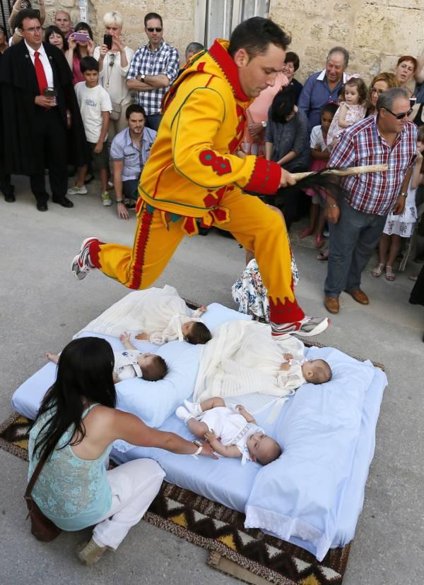 El Colacho Baby Jumping Festival