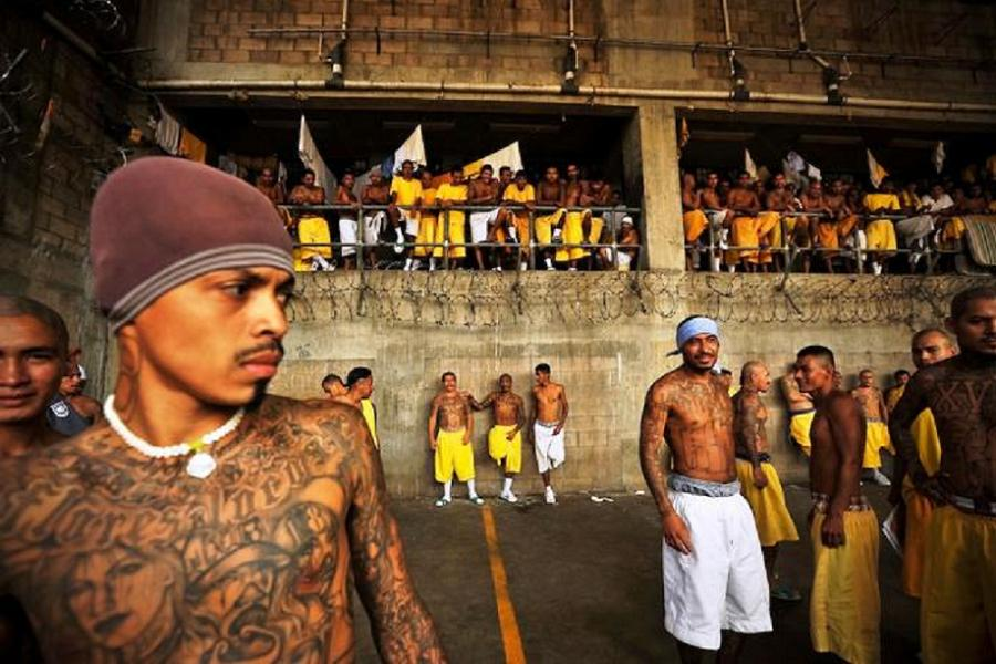 El Salvador Prison Inmates