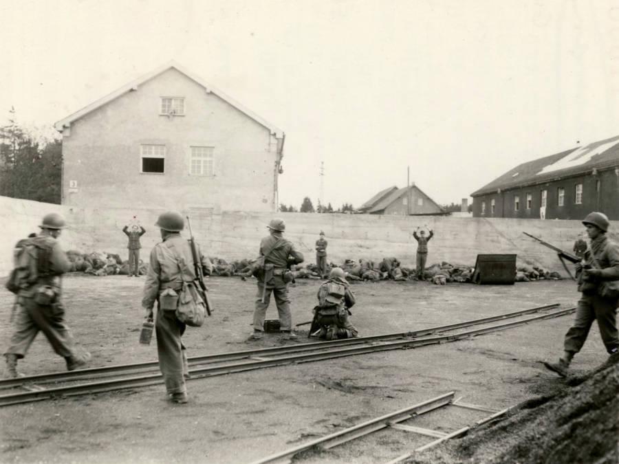 Execution Of Dachau Guards