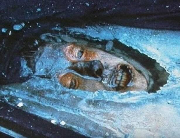 Frozen Corpse Of John Torrington
