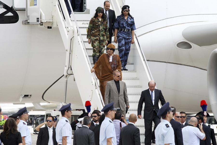 Libyan Dictator Muammar Gaddafi Facts