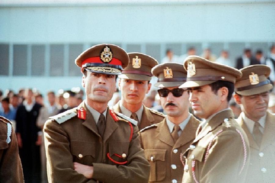 Gaddafi Coup