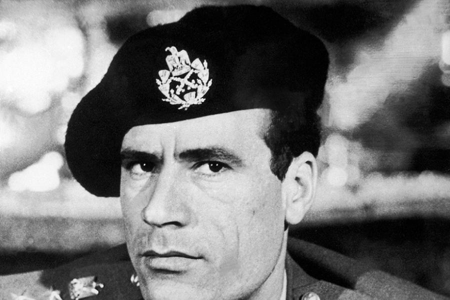 Gaddafi Looking Serious