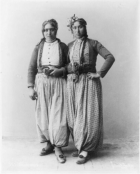 Gypsy Women Palestine