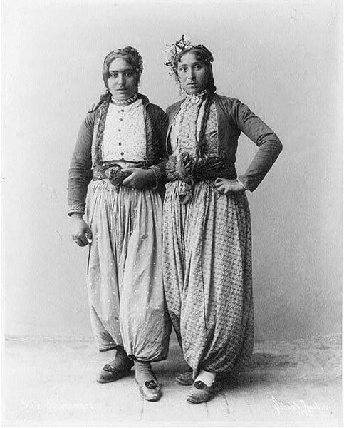 Gypsy Women Palestine