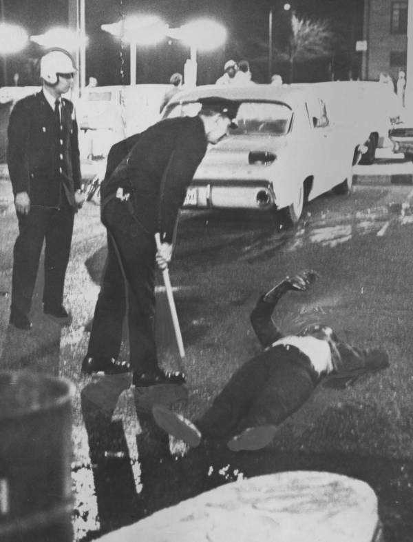 Injured Man On Ground