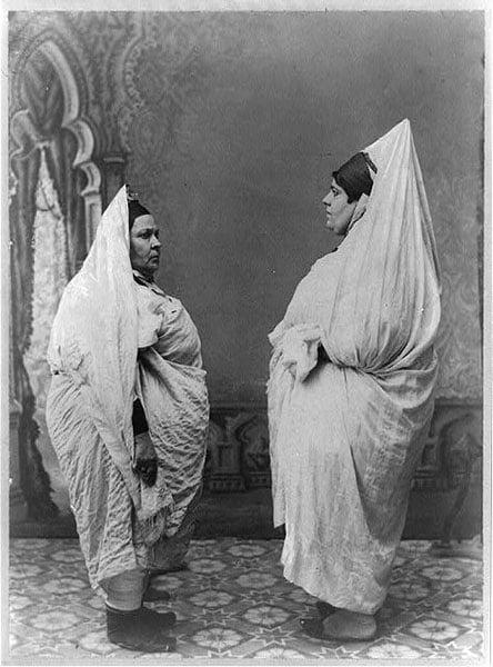 Jewish Women Tunisia White