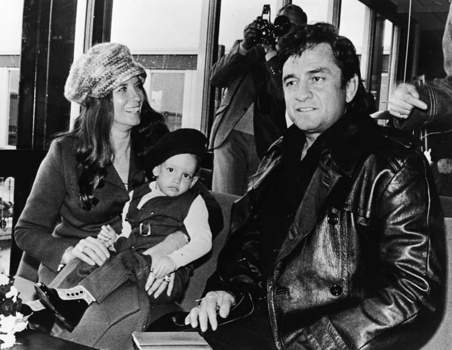 June Cash Baby Son