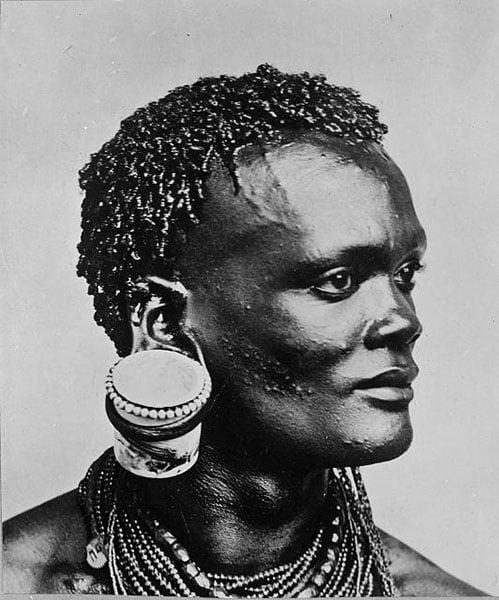 Kenya Man Earring