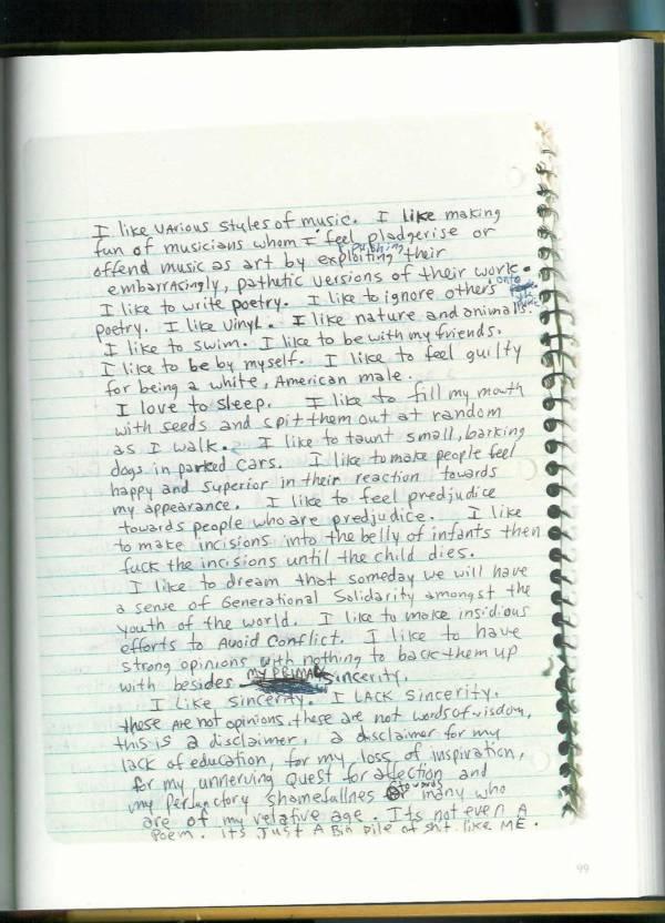 Kurt Cobain Journals 101