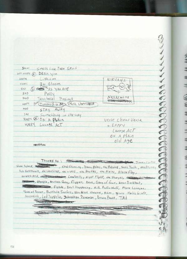 Kurt Cobain Journals 156