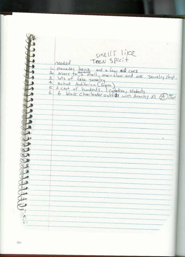Kurt Cobain Journals 162