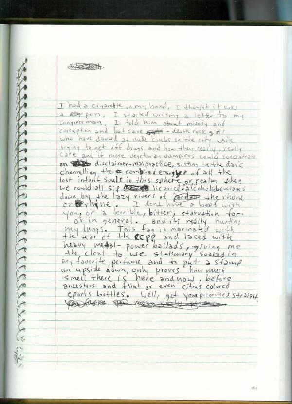 Kurt Cobain Journals 163