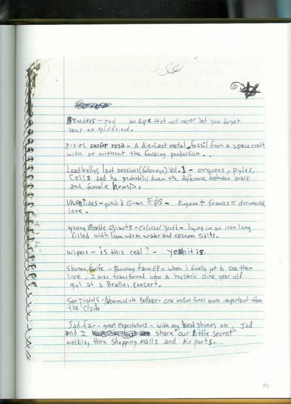 Kurt Cobain Journals 165