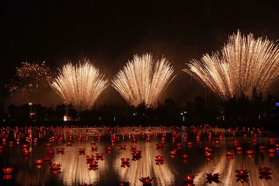 Lake Firework