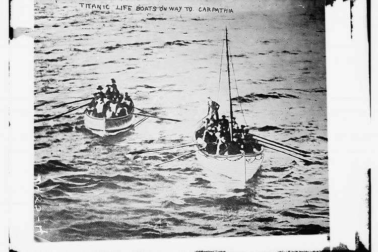 Life Boats From The Titanic