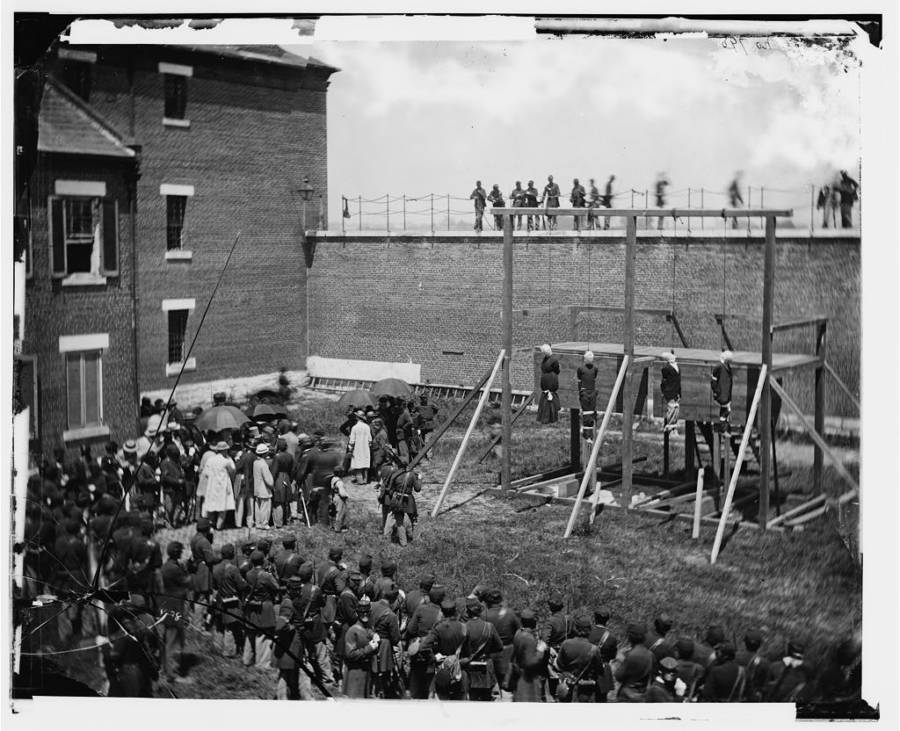 Lincoln Conspirators Hanged
