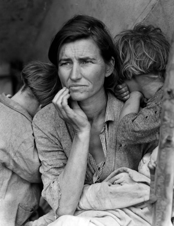 Dust Bowl Pictures Migrant Mother
