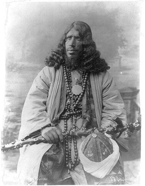 Native Man Beard