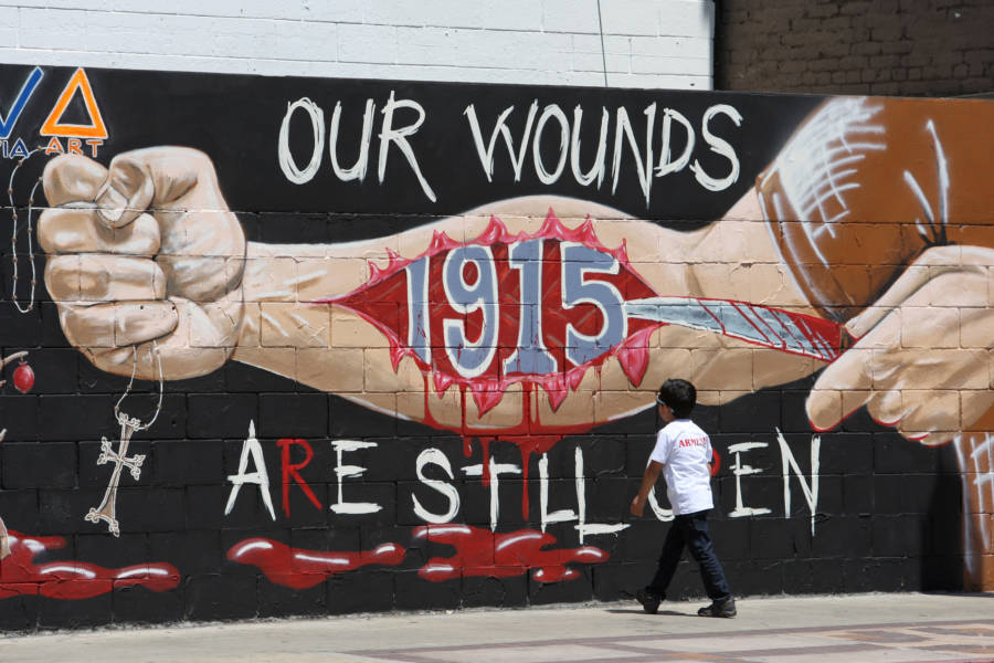 Painting About Armenian Genocide