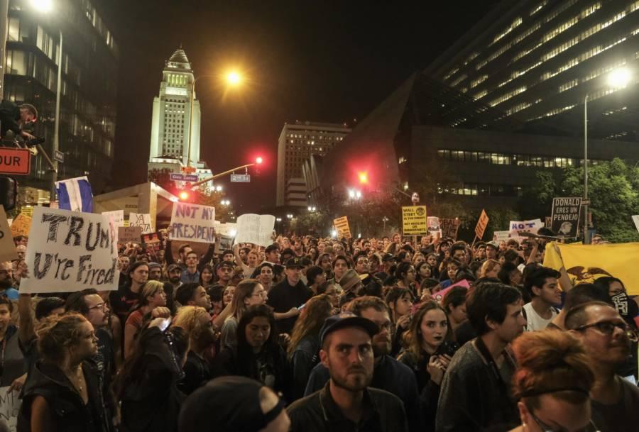 Protest Donald Trump 622122762
