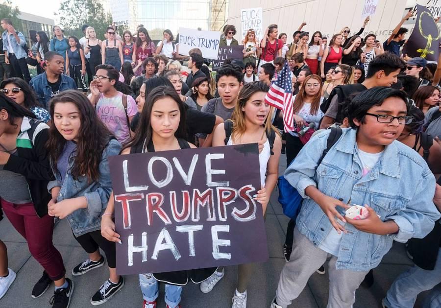 Protest Donald Trump