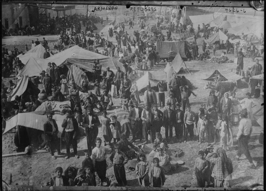 Refugees Tents