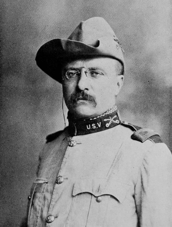 Teddy Roosevelt In Uniform
