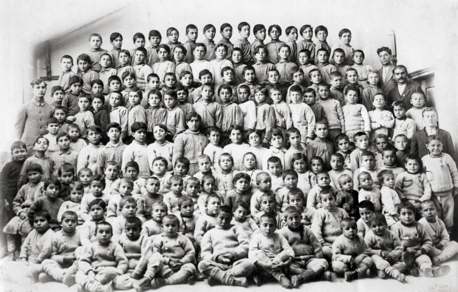 Rows Of Children