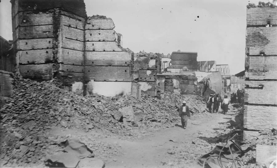 Armenian Genocide Rubble