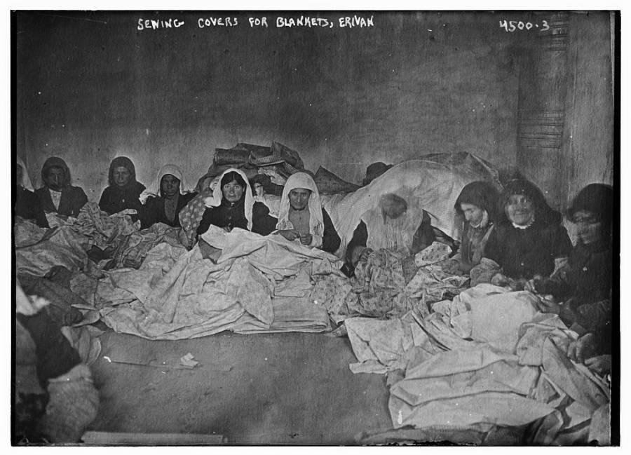 Armenian Women Sewing