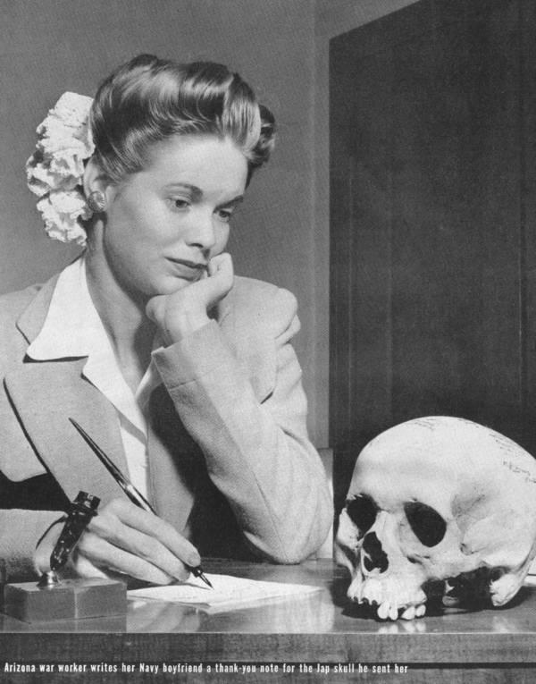 Skull On Desk