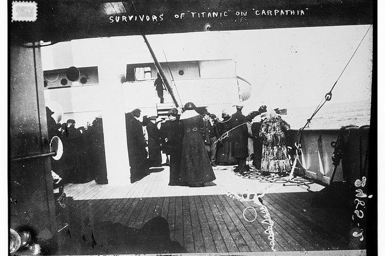 Survivors Carpathia