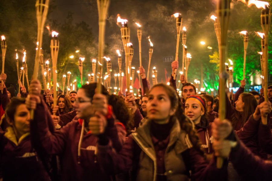 Torches Commemorating Genocide