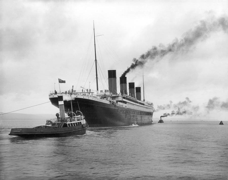 Pictures Of The RMS Titanic