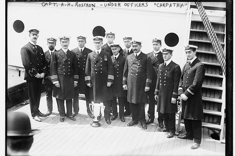 Officers On The Titanic