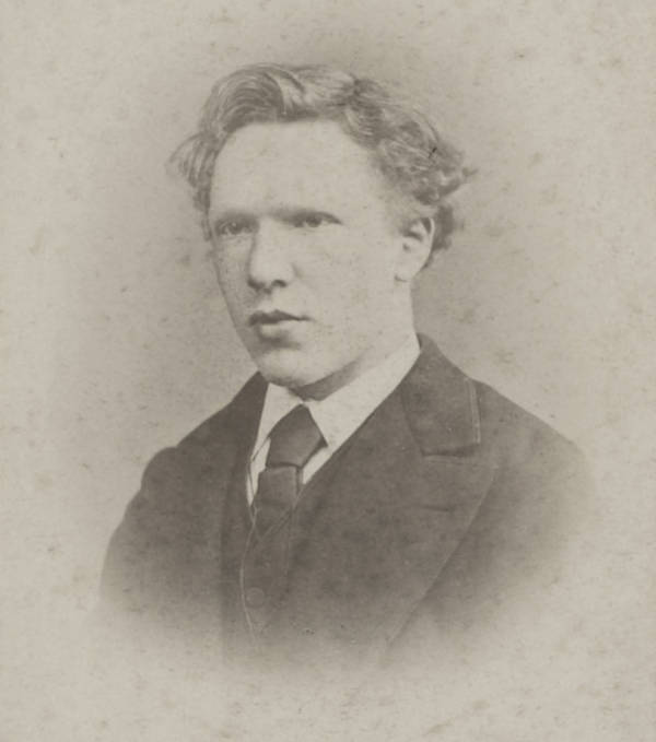 Van Gogh Photo Portrait