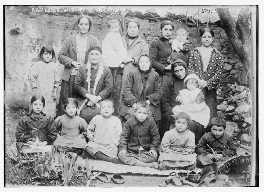 Armenian Widows And Children