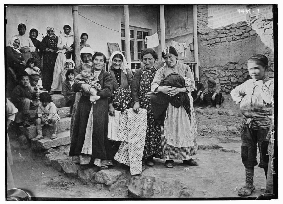 Armenian Women And Children