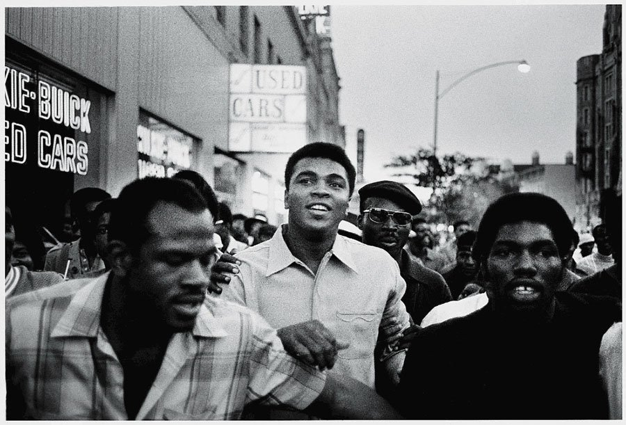 Muhammad Ali With The Black Panthers
