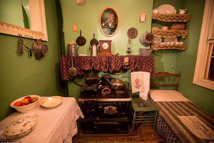 Before Welfare Tenement Room
