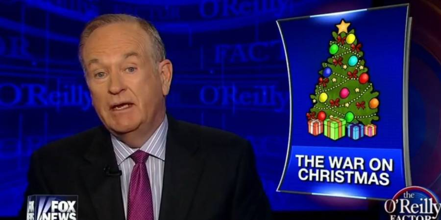 Bill Oreilly Christmas