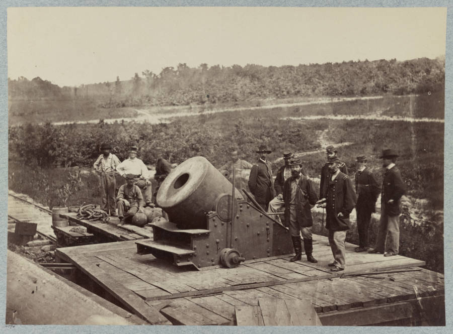 Civil War Big Cannon