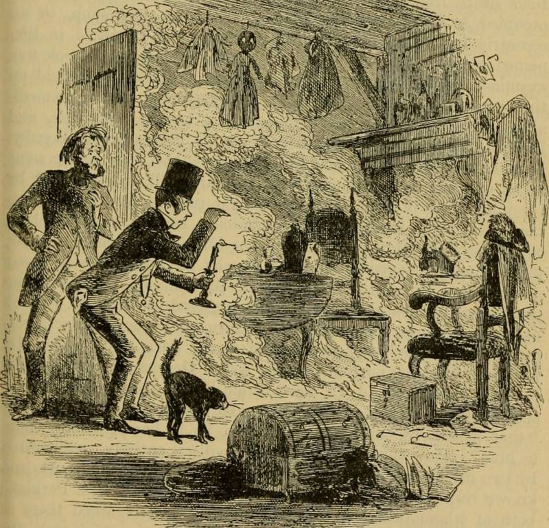 Illustration From Charles Dickens' Bleak House